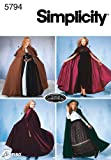 Arts & Crafts : Simplicity Sewing Pattern 5794 Misses Costumes, A (XS-S-M-L)