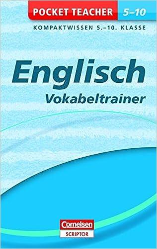 Englisch - Vokabeltrainer 5.-10. Klasse Pocket Teacher: Amazon.de ...