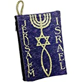 Icon Case Pouch Coin Purses Tapestry Prayer With Messianic Star Of David 5.7