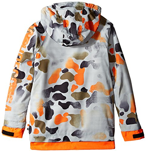 DC Big Boys' Ripley Boy Snow Jacket, Desert Camo Youth, 14/Large by DC Apparel (Image #2)