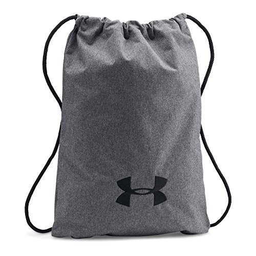 Backpack Cinch Embroidered (Under Armour Ozsee Elevated,Graphite/Black, One Size)
