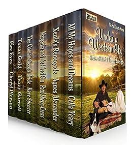 Under A Western Sky: Western Historical Romance Boxed Set by [Pierson, Cheryl, Garrett, Tracy, Spencer, Kaye, Sherry-Crews, Patti, Alexander, Agnes, Yeary, Celia]