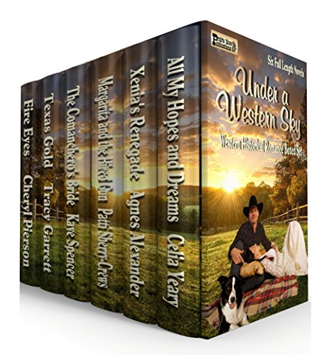 Under A Western Sky: Western Historical Romance Boxed Set by [Pierson, Cheryl, Garrett, Tracy, Spencer, Kaye, Sherry-Crews, Patti, Alexander, Agnes, Yeary, Celia]