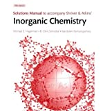 Inorganic Chemistry and Solutions Manual, Shriver and Shriver, Duward, 142926909X