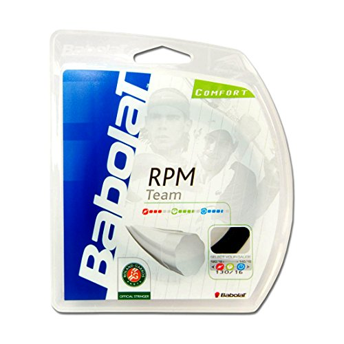Used, Babolat RPM Team 16 Tennis String Black for sale  Delivered anywhere in USA