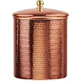 Amici A5AN833R Home Alexandria Copper Canister, X-Large/104 oz, Copper