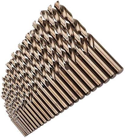 Twist Drill Bit Set HSS M35 Cobalt Twist Drill Bit Set 25pcs 1-13mm for Metal Wood Drilling Twist Drill Bits Drilling Tool