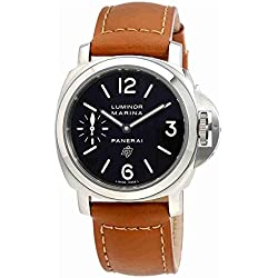 Panerai Luminor Marina Black Dial Mens Watch PAM01005