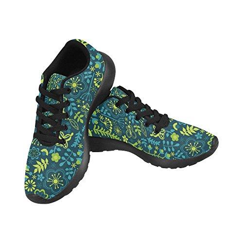 negro de 4 Zenzzle Zapatillas para Color Lona de running Negro mujer AqSqw7