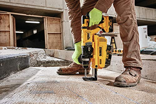 DEWALT 20V MAX Rotary Hammer, SDS Plus, L-Shape, On-Board Dust Extractor, 1-1/8-Inch (DCH263R2DH)