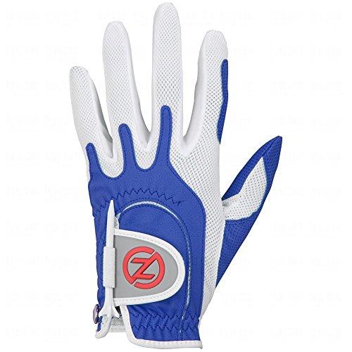 Zero Friction Performance Glove (LADIES, RIGHT, Blue, UNIVERSAL FIT) Golf