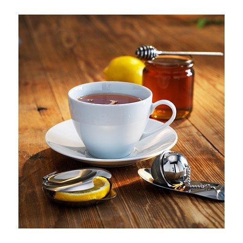 Ikea Juego de té Bloss Poto 3 Piezas Accesorios de té con infusor de té miel Destornillador y exprimidor de acero inoxidable: Amazon.es: Hogar