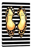 iCanvasART Christian Louboutin and Stripes Canvas Print, 40'' x 0.75'' x 26''