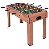37'' Indoor Arcade Game Foosball Table for Recreation Living Room Winter Summer All Seasons! (Blue, 37)