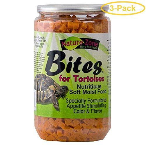 - Nature Zone Nutri Bites for Tortoises 24 oz - Pack of 3