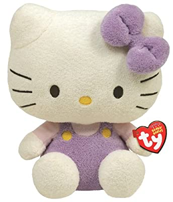 Ty Beanie Baby Hello Kitty - Lavendar Overalls by Ty