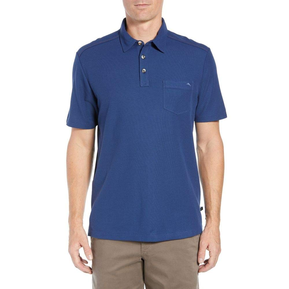 (トミー バハマ) TOMMY BAHAMA メンズ ゴルフ トップス Tropicool Del Rey Pocket Polo [並行輸入品]   B07JFF9LDR