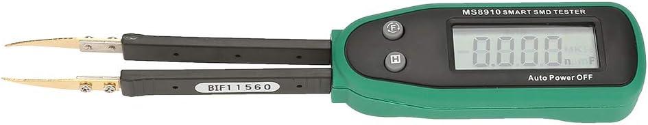 LCR//ESR MASTECH MS8910 Tester di capacit/à di tester Tester intelligente Pinzette Tester di capacit/à di resistenza DealMux Tester di capacit/à di resistenza tester di resistenza