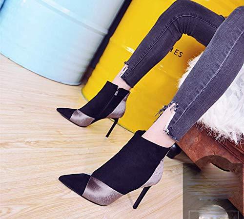 GTVERNH Frauen Schuhe Herbst Frauen - Stiefel 100 100 100 Sätze Farbabstimmung Sagte 9Cm Hochhackige Schuhe Slim - Heels Schlank Modisch - Stiefel 6a244f