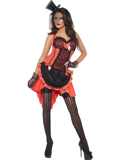 Amazon.com: Disfraz de mujer de Burlesque Vegas Showgirl ...