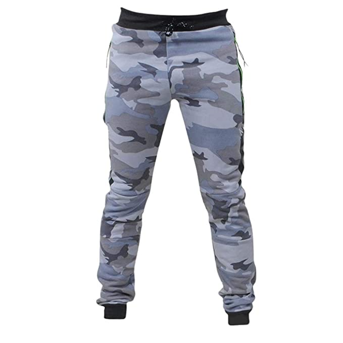 Moda Pantalones Hombre Al Aire Libre montaña Empacar Camuflaje Empalme  Negro Cordón Pantalones Deportivo 2019  Amazon.es  Ropa y accesorios 0de28576e1c