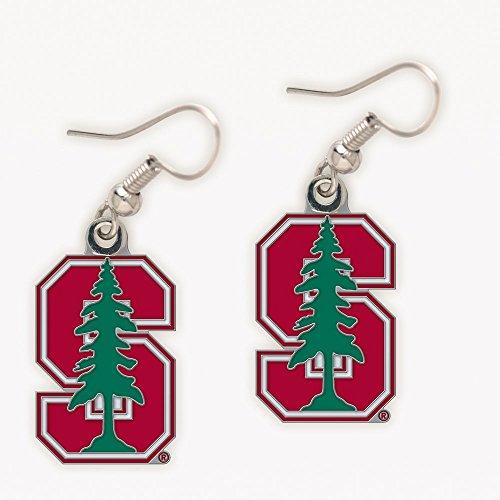 WinCraft NCAA Stanford University Earrings Jewelry Card (Stanford University-shop)