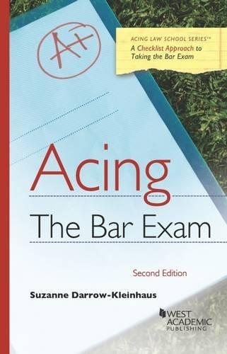 Acing the Bar Exam (Acing Series)