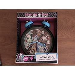 Monster High Voltage Jumbo 8 Twin Bell Alarm Clock