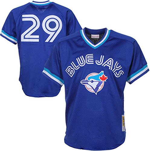 Joe Carter Toronto Blue Jays Royal Blue Authentic Mitchell & Ness BP Jersey (3XL/56)