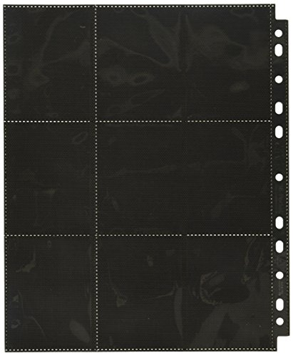 Ultimate Guard Side Load Page: (50) Card Game (18 Package), Black by Ultimate Guard