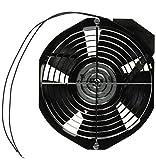 Hoffman A6AXFN Axial Fan, 6'', 115V, 50/60 Hz