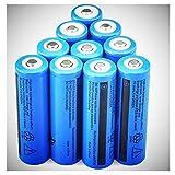 Best 18650 Batteries - Batteries 10 pcs Rechargeable Battery 18650 3.7V 6000mAh Review
