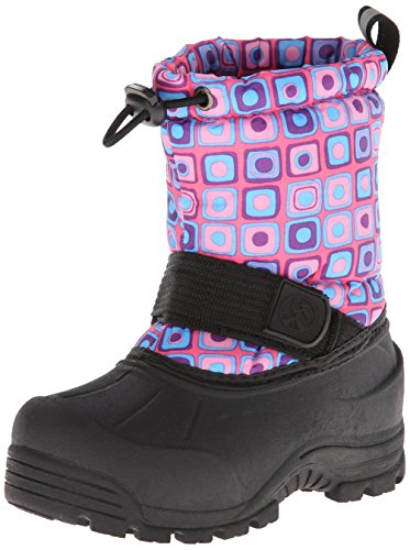 Northside Frosty Winter Boot ,Pink/Turquoise,12 M US Little