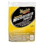 Meguiar's Supreme Shine Microfiber Towels – Reusable Towels Deliver Impressive Shine – X2025 (6-Pack)