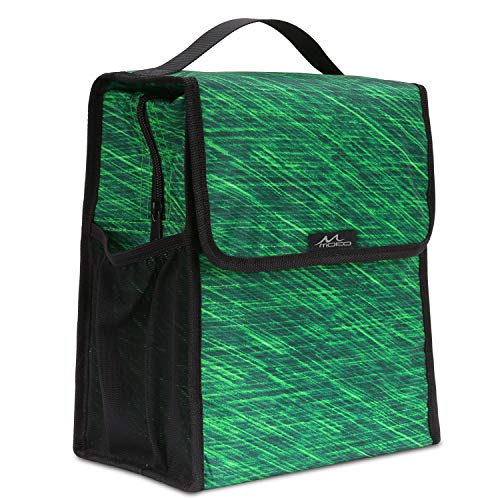 Insulated Lunch Bag, MoKo Reusable Outdoor Travel Picnic Sch