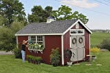 Little Cottage Company Colonial Williamsburg 12'x20' DIY Shed Kit