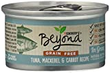 Beyond Dry Cat Purina Grain Free Tuna Mackerel and Carrot Recipe Can, 3 oz