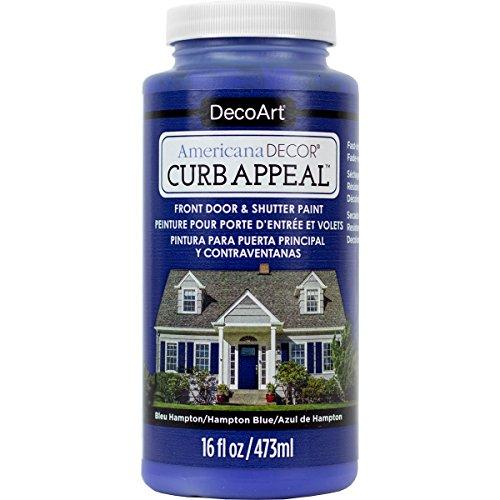 Decoart Americana Decor Curb Appeal 16oz Hamptnblu CurbAppeal16oz (Paints Hampton)