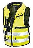 Spidi Sport S.R.L. Neck DPS Air-Bag Vest, Distinct Name: Flourescent Yellow, Gender: Mens/Unisex, Size: 2XL, Primary Color: Yellow T152-486-2X
