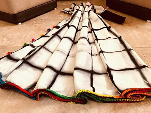 Daindiashop-usa Indian Hand Block Printed Cotton Multicolor Bagru Print Sarees For Women Party Wear Traditional Sari. Daindiashop-usa Bloc Main Indien Impression Bagru Multicolores En Coton Imprimé Saris Pour Les Femmes Parties Portent Sari Traditionnel. Multicolor 16 Multicolore 16
