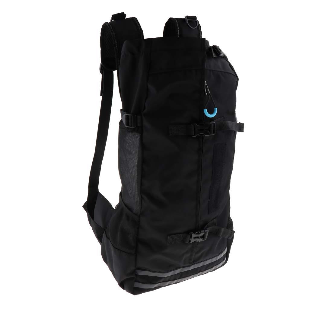 Black as described Black as described MagiDeal Zipper Design Dog Carrier Hiking Backpack Fold-able Dog Carrier Breathable Bag, Comfort Pet Carrier Used for Travelling, Camping, Walking and Outdoor Black, as described