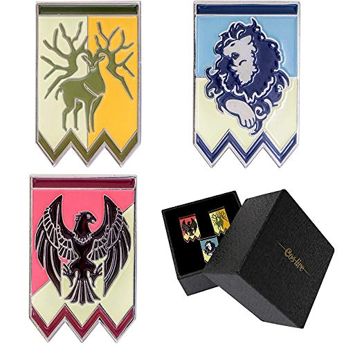 Ajpicture Fire Emblem Three Houses 3pcs Protagonist Badges Cosplay Costume Brooches Pins for Game Accessories