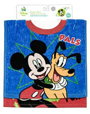 2-pack Mickey Mouse Toddler Pullover Terry Bibs