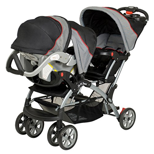 baby trend double sit n stand stroller millennium new ebay. Black Bedroom Furniture Sets. Home Design Ideas