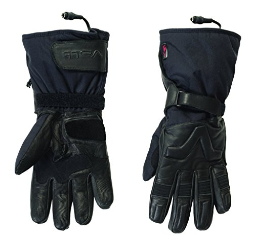 Volt Motorcycle glove, Black, Large
