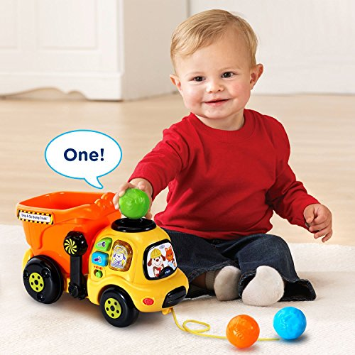 VTech Drop and Go Dump Truck Amazon Exclusive by VTech (Image #3)