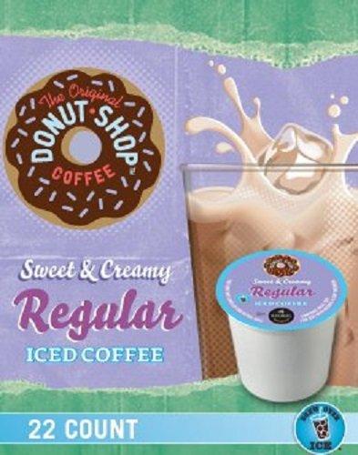 The Original Donut Shop Sweet & Creamy Regular Iced Coffee, 88 Count