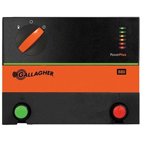 Gallagher G362504 B80 12-volt Fencer, 60 Acre/8-Mile