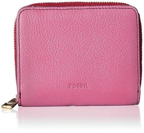 Fossil Emma RFID Mini Multifunction Wallet, Neon Pink
