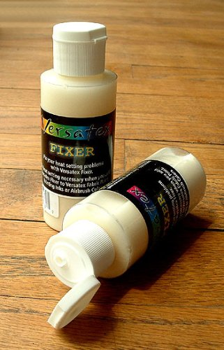 Jacquard Versatex Screenprinting Fixer to Eliminate Heat Setting Problems with Fabric Inks 4oz ()